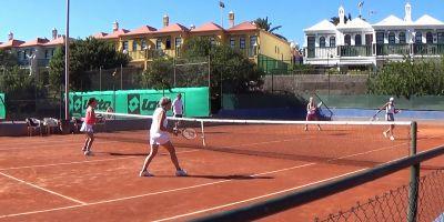 Tennistä läpi vuoden Kanarialla