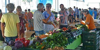 Maalaismarkkinat San Fernandossa