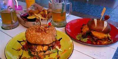 Inglesin parhaat hampurilaiset: ALOHA Hamburger Bar