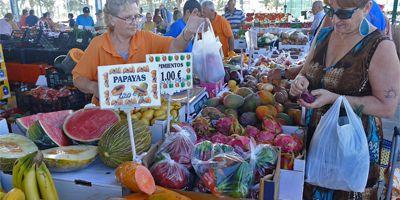 Maalaismarkkinoilla Gran Canarialla
