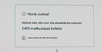 Lento myöhässä osa 2: Korvaushakemuksen täyttäminen - kanariatv.fi