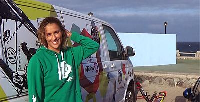 Daida Ruano Moreno-moninkertainen naisten purjelautailun MM -kanariatv.fi