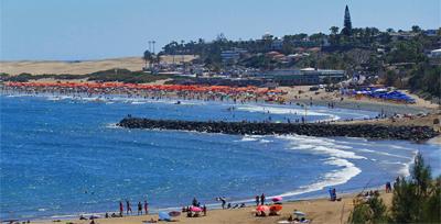 Aurinkoon! (Playa del Ingles, Gran Canaria) -kanariaTV.fi