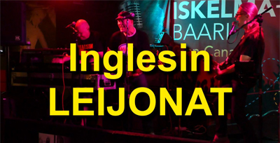Inglesin LEIJONAT: levy tulossa! -kanariaTV.fi-