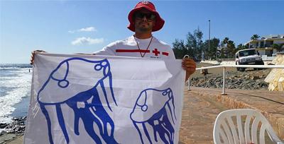 Mitä liput rannalla tarkoittavat? -kanariaTV.fi