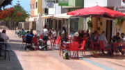 Ulkonaliikkumiskielto loppui. El Tablero, Gran Canaria