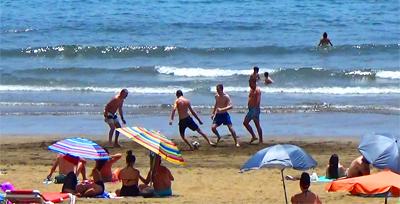 Playa del Ingles. Nyt. Gran Canaria -kanariaTV.fi