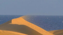 Calima- hiekkaa ja kuumia tuulia